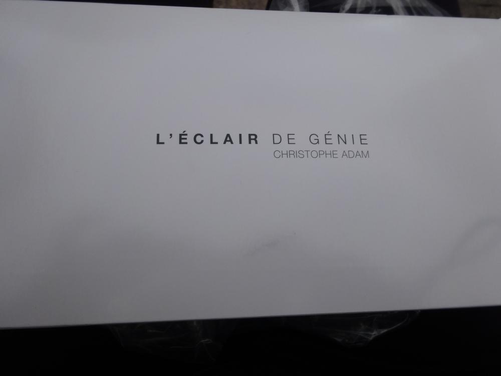 Ma dégustation chez l'Eclair de Génie - Paris (2/4)