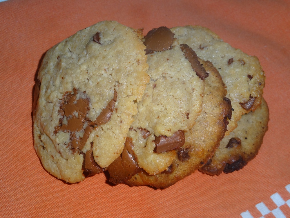 Cookies chocolat au lait caramel beurre salé (2/2)