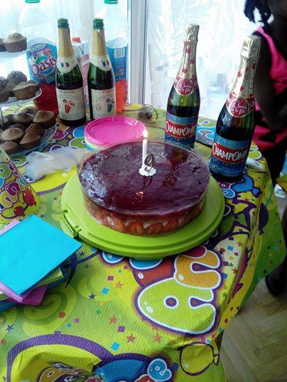 fraisier anniversaire