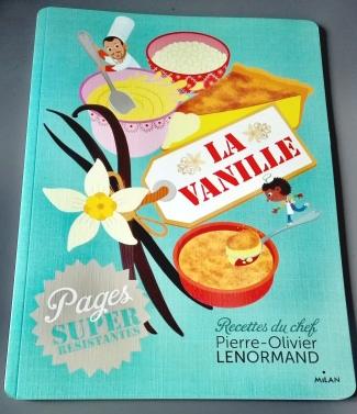 Livre de recettes La vanille