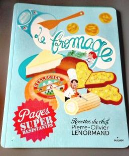Livre de recettes Le fromage